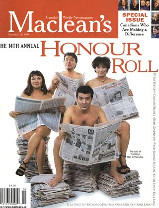 Cover for the December 13 1999 issue