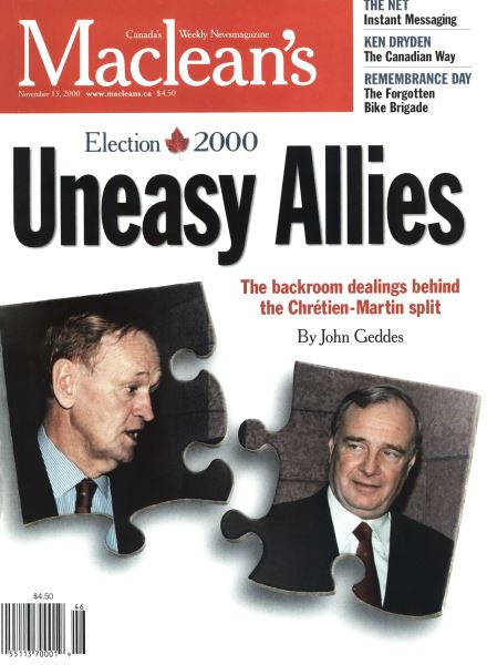Issue: - November 2000 | Maclean's