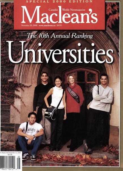 Issue: - November 2000   Maclean's