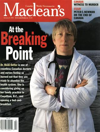 Cover for the January 8 2001 issue