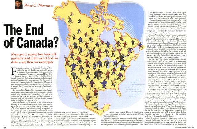 The End of Canada?