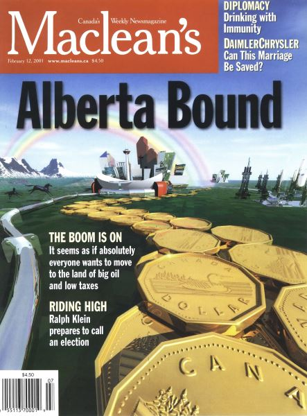 Issue: - February 12, 2001 | Maclean's
