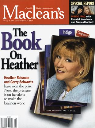 Cover for the February 26 2001 issue