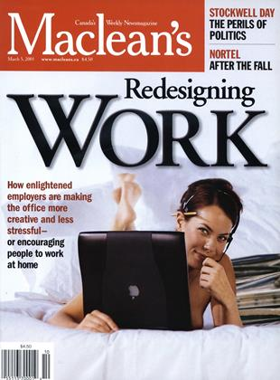 Cover for the March 5 2001 issue