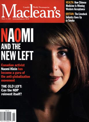 Cover for the March 12 2001 issue