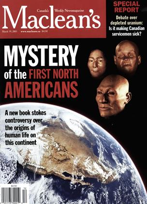 Cover for the March 19 2001 issue