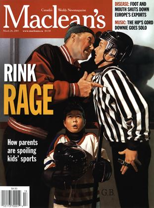 Cover for the March 26 2001 issue