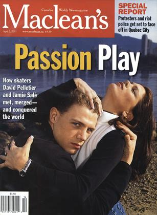 Cover for the April 2 2001 issue