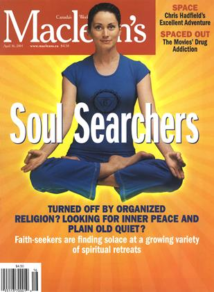 Cover for the April 16 2001 issue