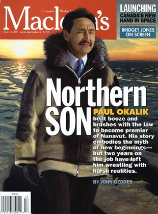 Cover for the April 23 2001 issue