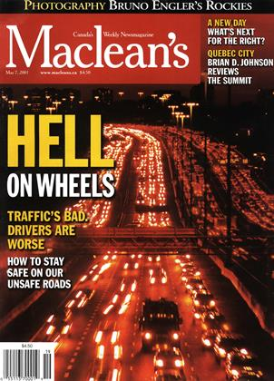 Cover for the May 7 2001 issue