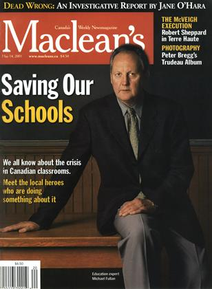 Cover for the May 14 2001 issue