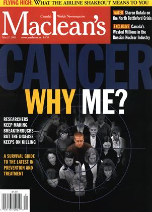 Cover for the May 21 2001 issue