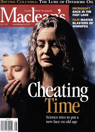 Cover for the July 9 2001 issue