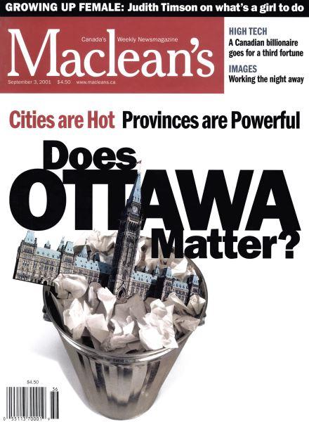 Issue: - September 2001 | Maclean's