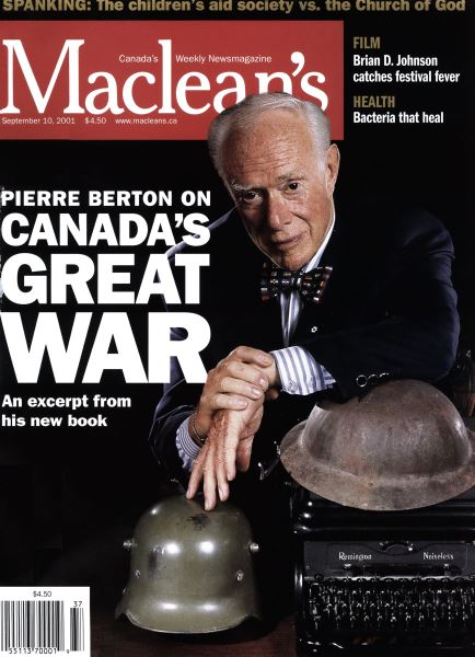 Issue: - September 10,2001 | Maclean's