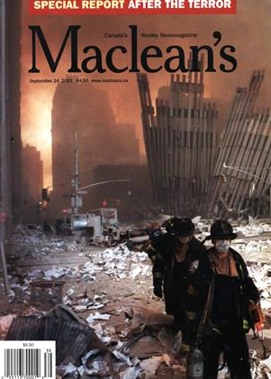 Cover for the September 24 2001 issue