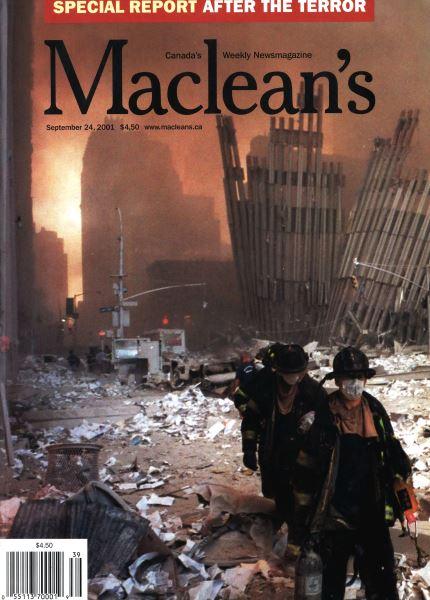 Issue: - September 2001   Maclean's