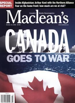 2001 - October | Maclean's