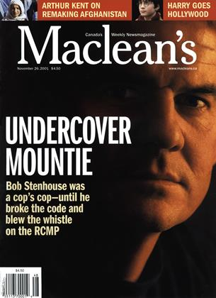 Cover for the November 26 2001 issue