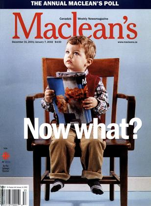 Cover for the December 31 2001 issue