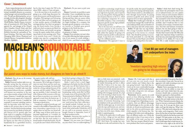 MACLEAN'SROUNDTABLEOUTLOOK2002