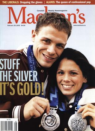 Cover for the February 25 2002 issue