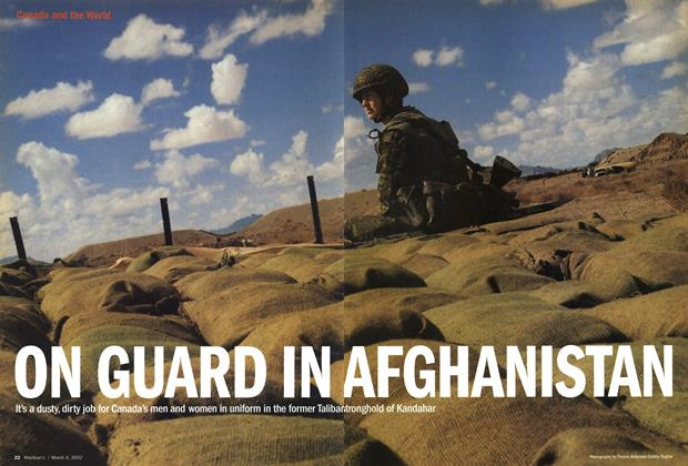 ON GUARD IN AFGHANISTAN