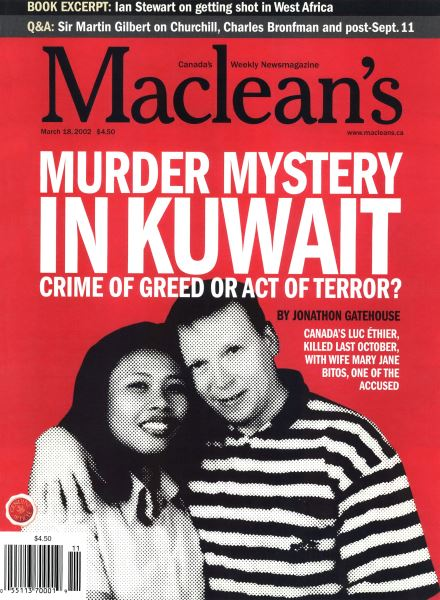 Issue: - March 2002 | Maclean's