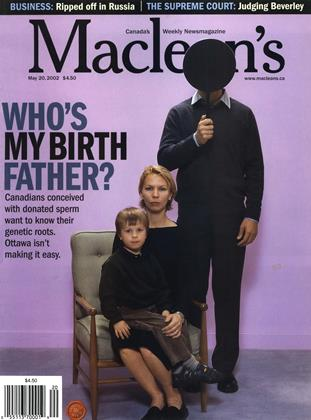 Cover for the May 20 2002 issue