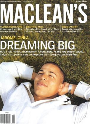 Cover for the October 14 2002 issue