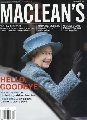 Cover for the October 21 2002 issue