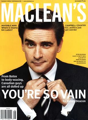 Cover for the December 2 2002 issue