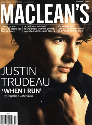 Cover for the December 23 2002 issue