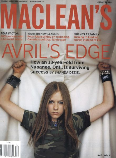Issue: - January 2003 | Maclean's