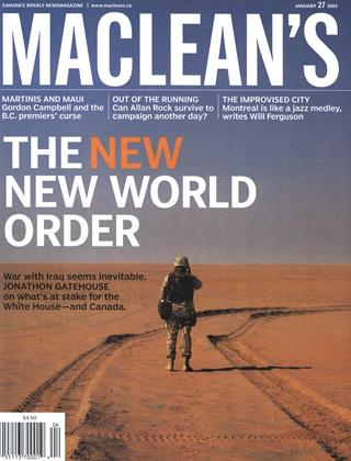 Cover for the January 27 2003 issue