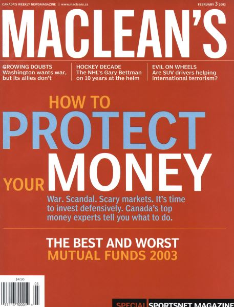 Issue: - February 2003 | Maclean's
