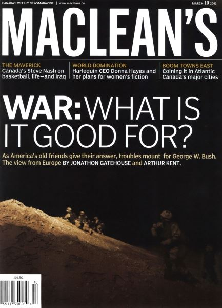 Issue: - March 2003 | Maclean's