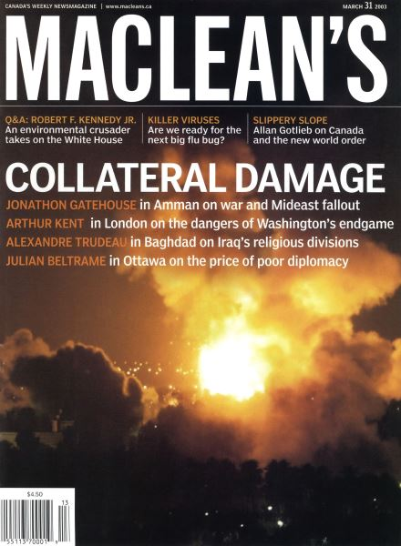 Issue: - March 2003   Maclean's