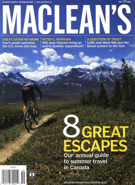 Issue: - May 2003   Maclean's