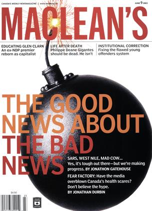 Cover for the June 9 2003 issue