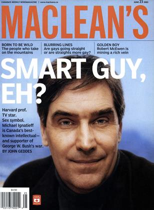 Cover for the June 23 2003 issue