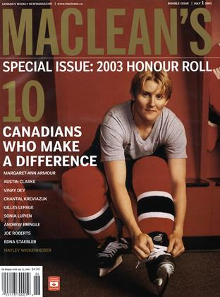 Cover for the June 30 2003 issue