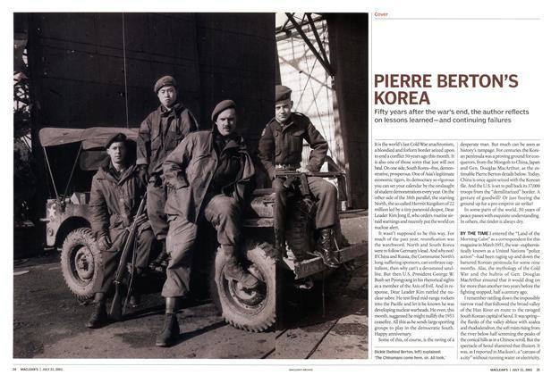 PIERRE BERTON'S KOREA