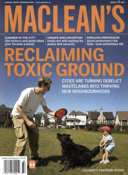 Issue: - August 2003 | Maclean's