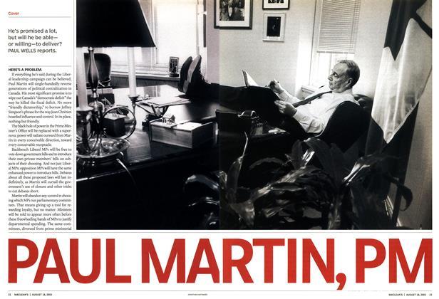 PAUL MA RTIN, PM
