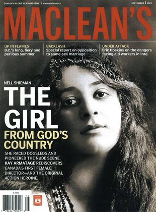 Cover for the September 1 2003 issue