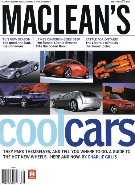 Issue: - September 2003 | Maclean's