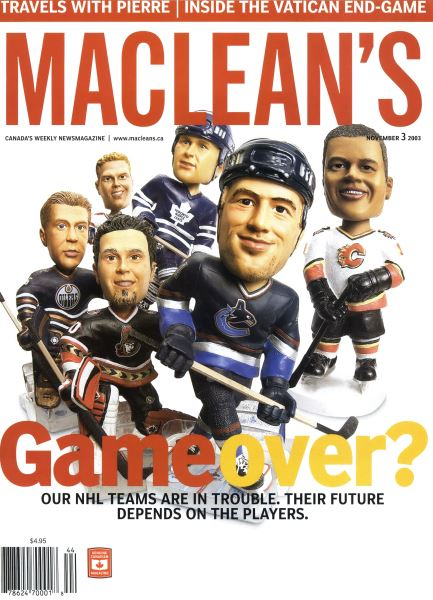 Issue: - November 2003 | Maclean's
