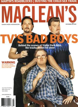 Cover for the November 24 2003 issue